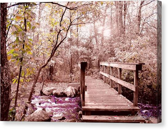 Bridge To Utopia  Canvas Print