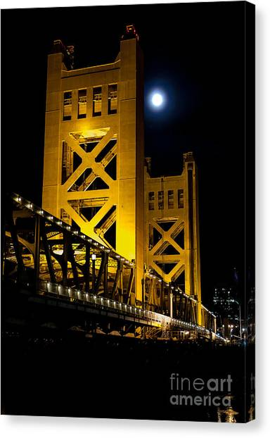 Bridge View Canvas Print