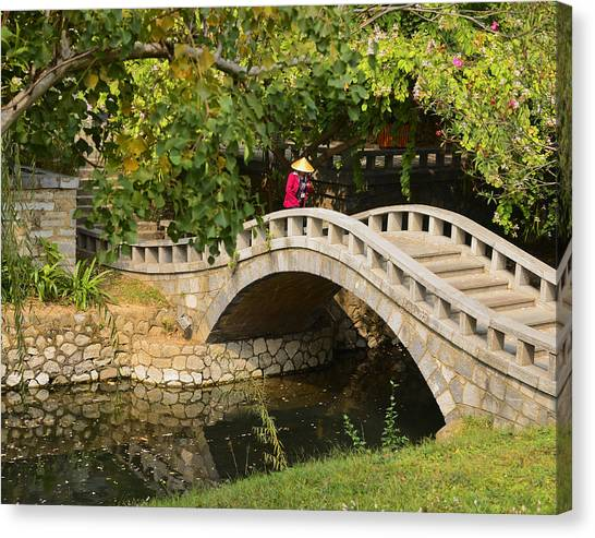 Bridge Walker China Canvas Print