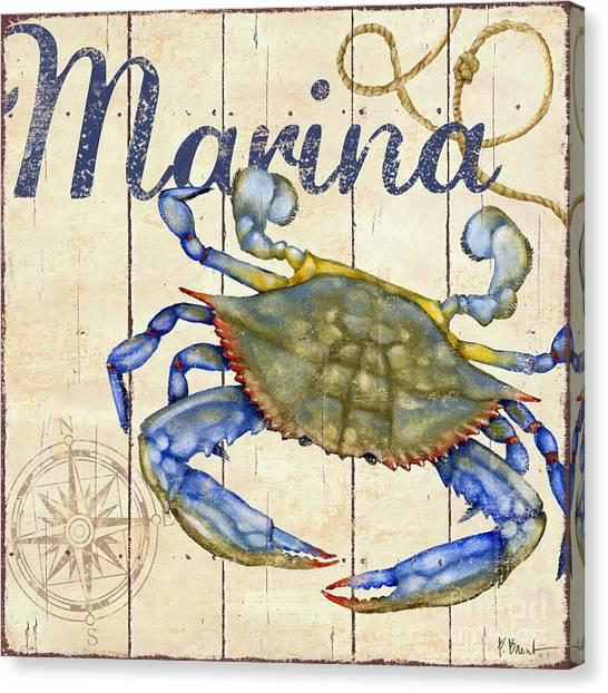 Lobster Canvas Print - Bridgeport Iv by Paul Brent