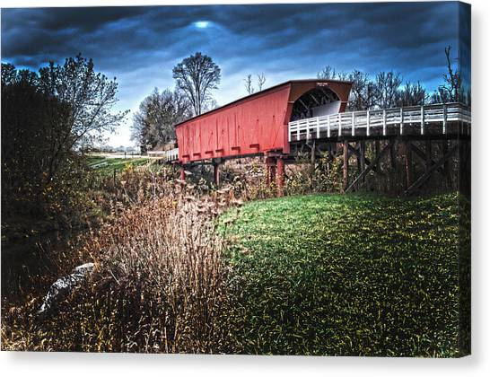 Bridges Of Madison County Canvas Print