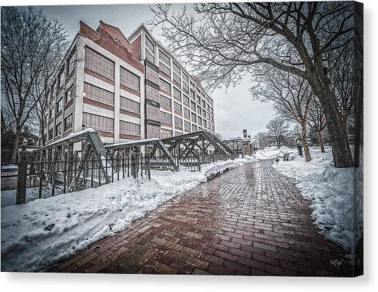 Syracuse University Canvas Print - Bridgewater Place by Everet Regal