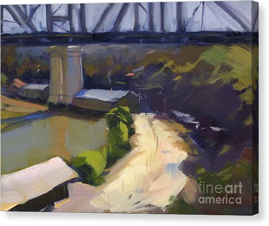 Bridging Gaps After Colley Whisson Canvas Print
