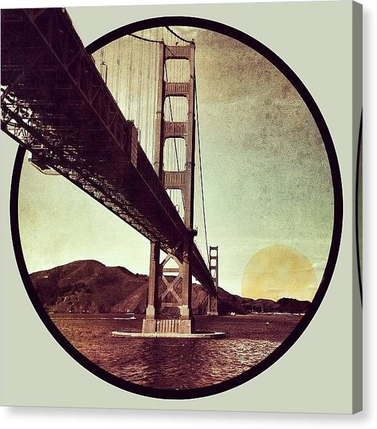 Sparrows Canvas Print - |/bridging The Gap\| Another Edit by Cameron Jack Sparrow