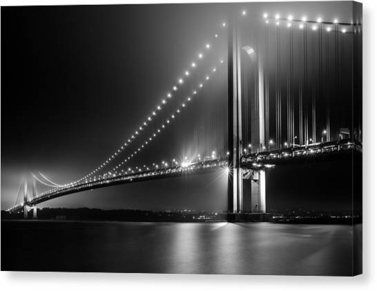 Bridging Verrazano Narrows Canvas Print