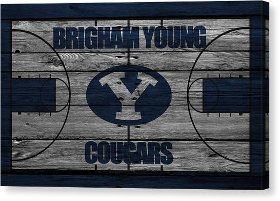 Independent Canvas Print - Brigham Young Cougars by Joe Hamilton