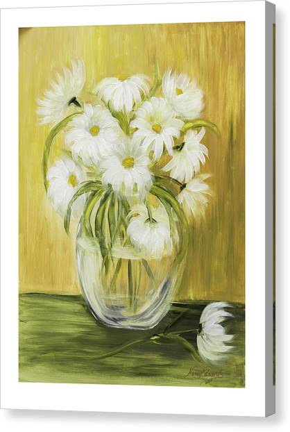 Bright And Sunny Canvas Print by Nancy Edwards