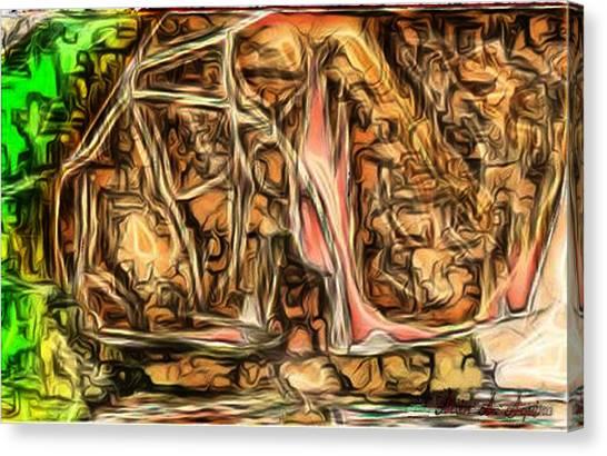 Bright Gloomy Roar Oar  Canvas Print