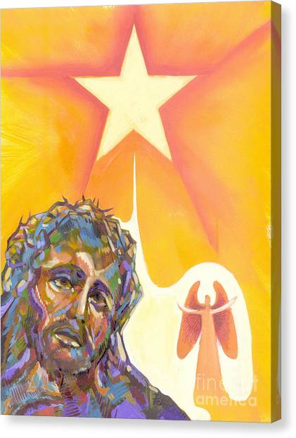Bright Morning Star Canvas Print by Peter Olsen