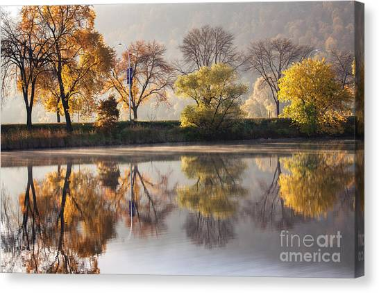 Bright Start To The Day Canvas Print