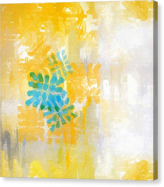 Lemons Canvas Print - Bright Summer by Lourry Legarde