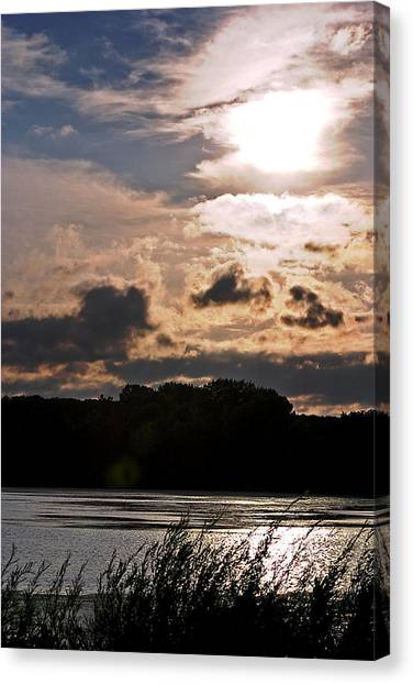 Bright Sun Canvas Print by Mark Russell