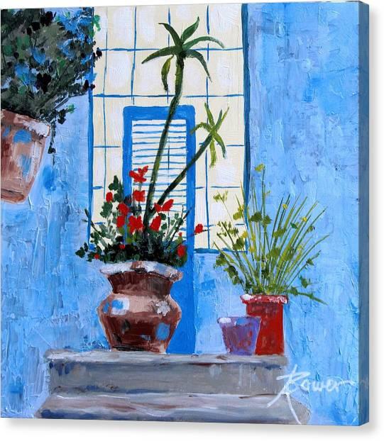 Bright Window Canvas Print