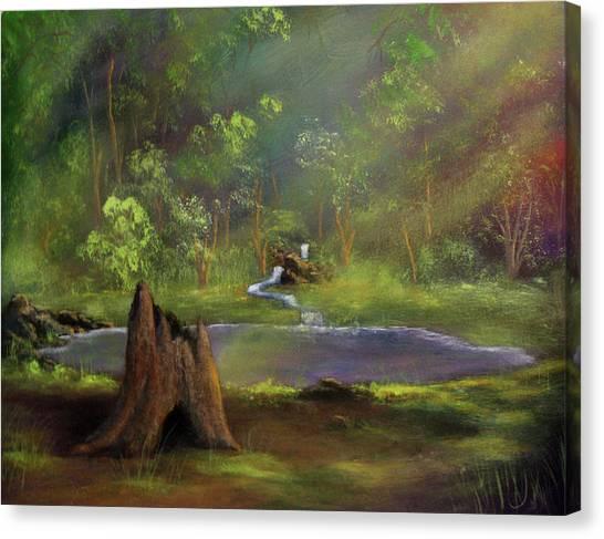 Brightening Canvas Print