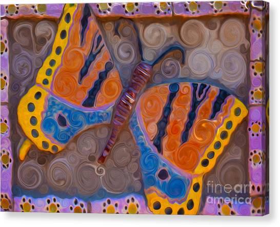 Witkowski Canvas Print - Brilliant Butterfly by Omaste Witkowski