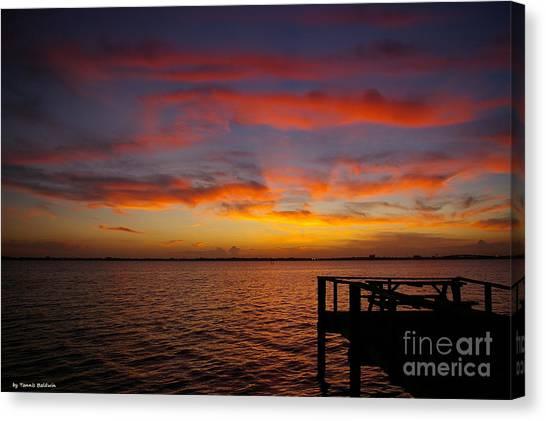Brilliant Sunset Canvas Print