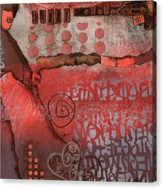 Abstract On Canvas Print - Bring It To The Surface by Laura  Lein-Svencner
