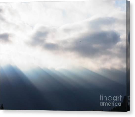 Bringer Of Light Canvas Print