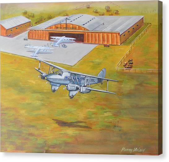 Brisbane Airport 1935 Canvas Print