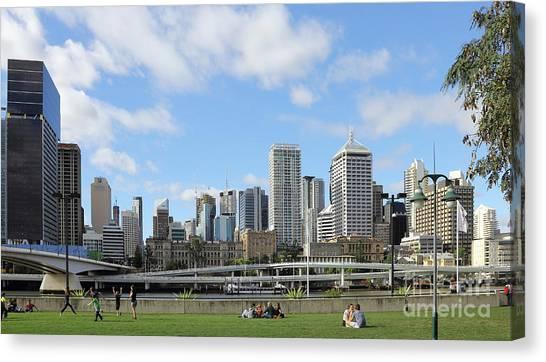 Brisbane City Canvas Print