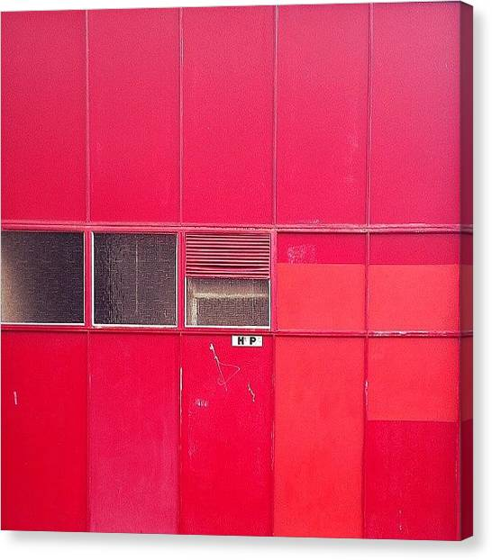 Warehouses Canvas Print - #brisbane #newfarm #thereds #warehouse by Jason Emmett