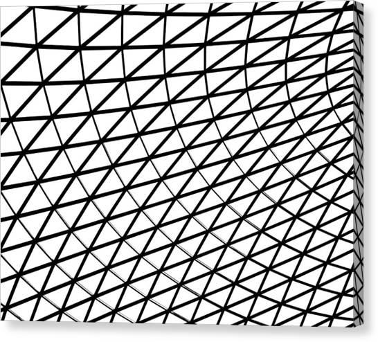 Canvas Print - British Museum Geometry by Rona Black