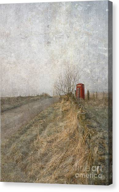 British Phone Box Canvas Print