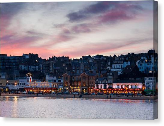 British Seaside Canvas Print