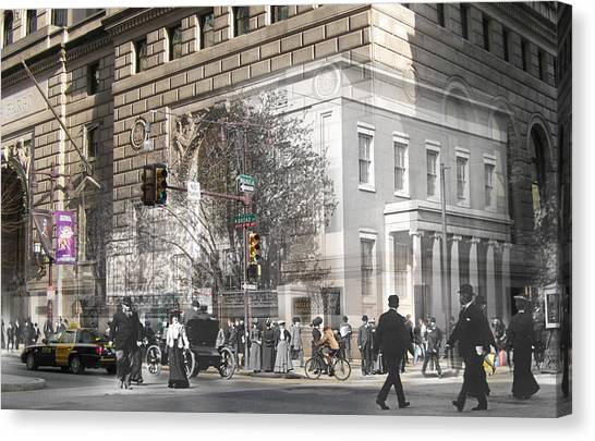 Broad And Walnut Canvas Print
