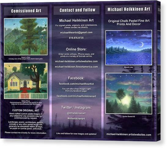 Brochure 2015 - Exterior Canvas Print