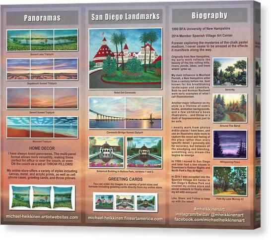 Brochure 2015 - Interior Canvas Print