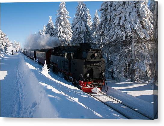 Brockenbahn Canvas Print
