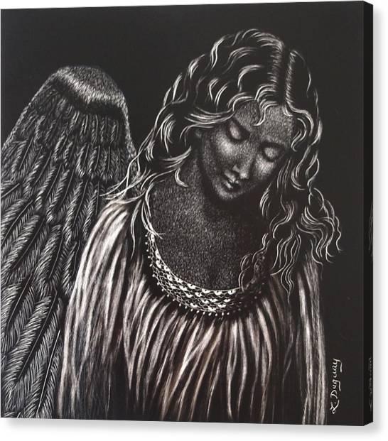 Broken Angel Canvas Print