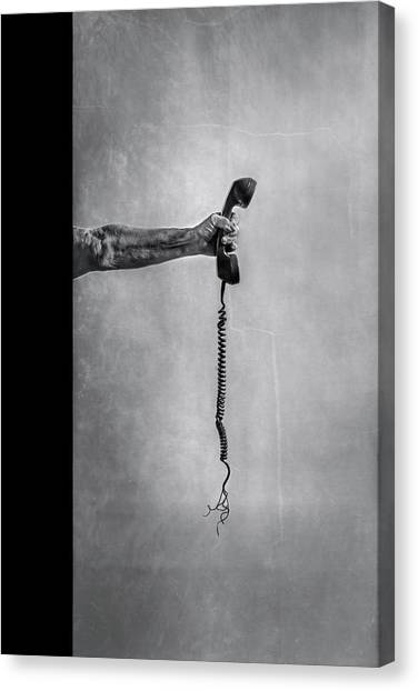 Communications Canvas Print - Broken Communication by Stephen Clough