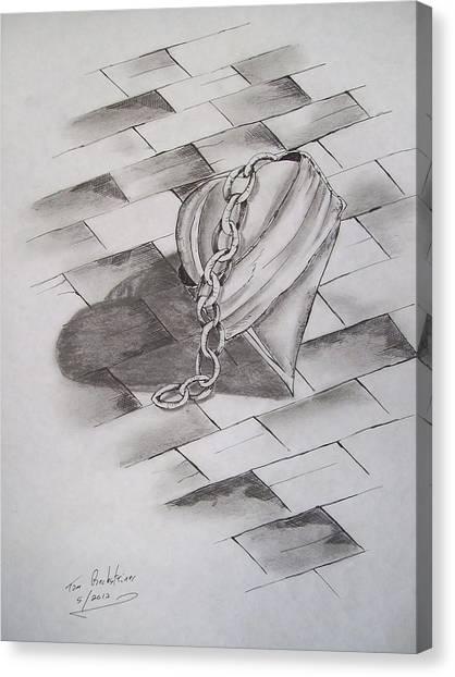 Broken Heart Canvas Print by Tom Rechsteiner