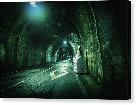 Tunnels Canvas Print - Broken Marriage by Daisuke Kiyota