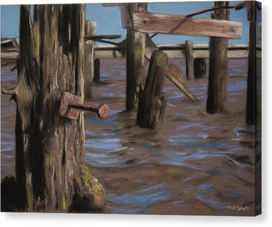 Abandoned Pier Canvas Print