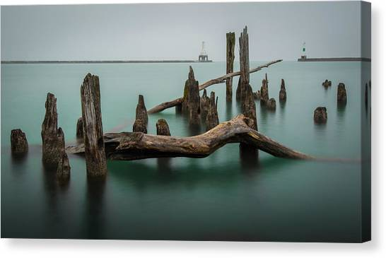 Points Of Port Canvas Print