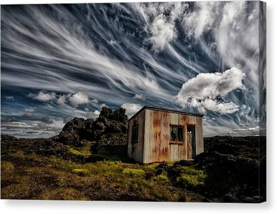 Decay Canvas Print - Broken Shack by ?orsteinn H. Ingibergsson