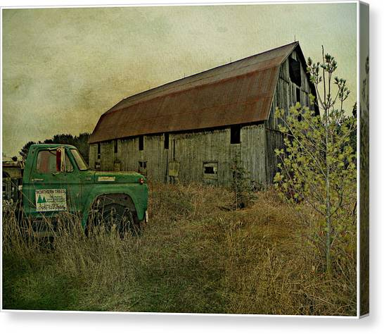 Broken Things To Mend  Canvas Print by Dianne  Lacourciere