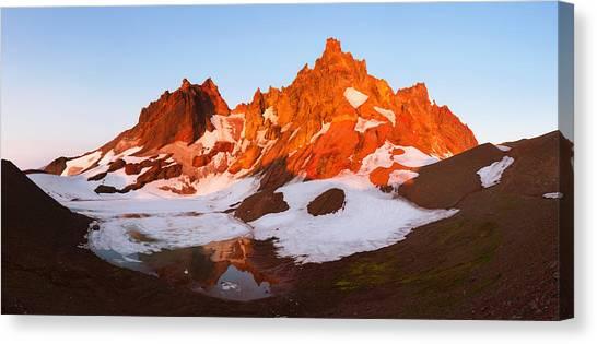 Broken Top Mt. Sunrise Canvas Print
