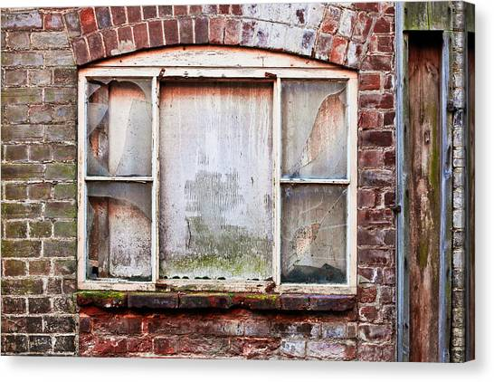 Window Canvas Print - Broken Window by Tom Gowanlock