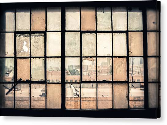 Broken Windows Canvas Print