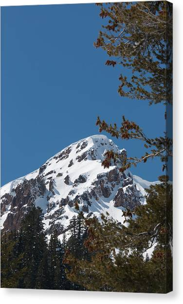 Brokeoff Mtn. In Spring Canvas Print