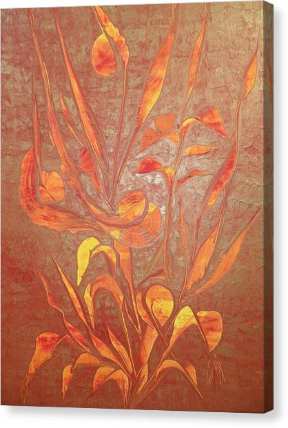 Bronze Canvas Print by Nico Bielow