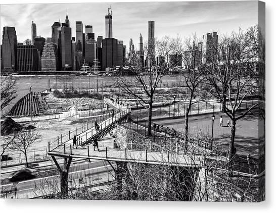 Brooklyn Bridge Park Canvas Print