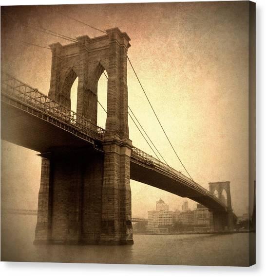 Brooklyn Nostalgia II Canvas Print