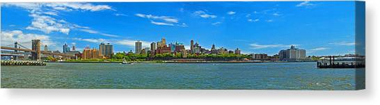 Brooklyn Panorama I Canvas Print