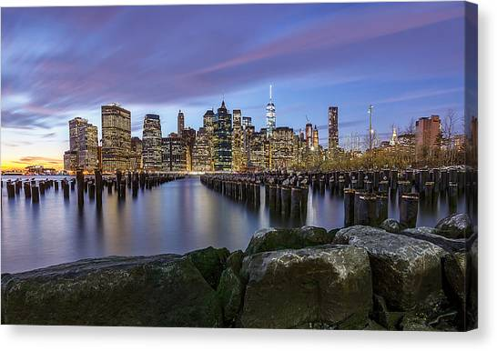 Brooklyn Park  Canvas Print