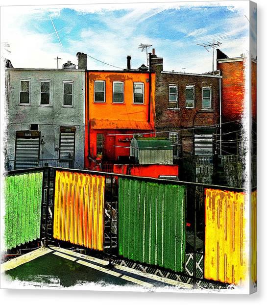 Brooklyn Terrace Canvas Print